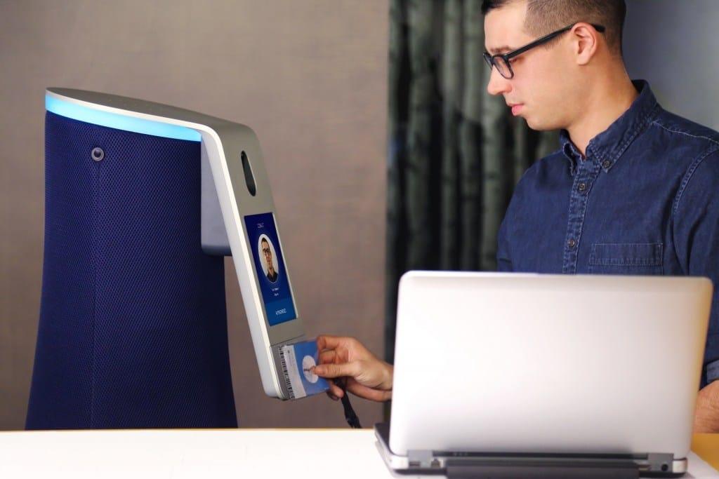 Cobalt Robot Badge Reading