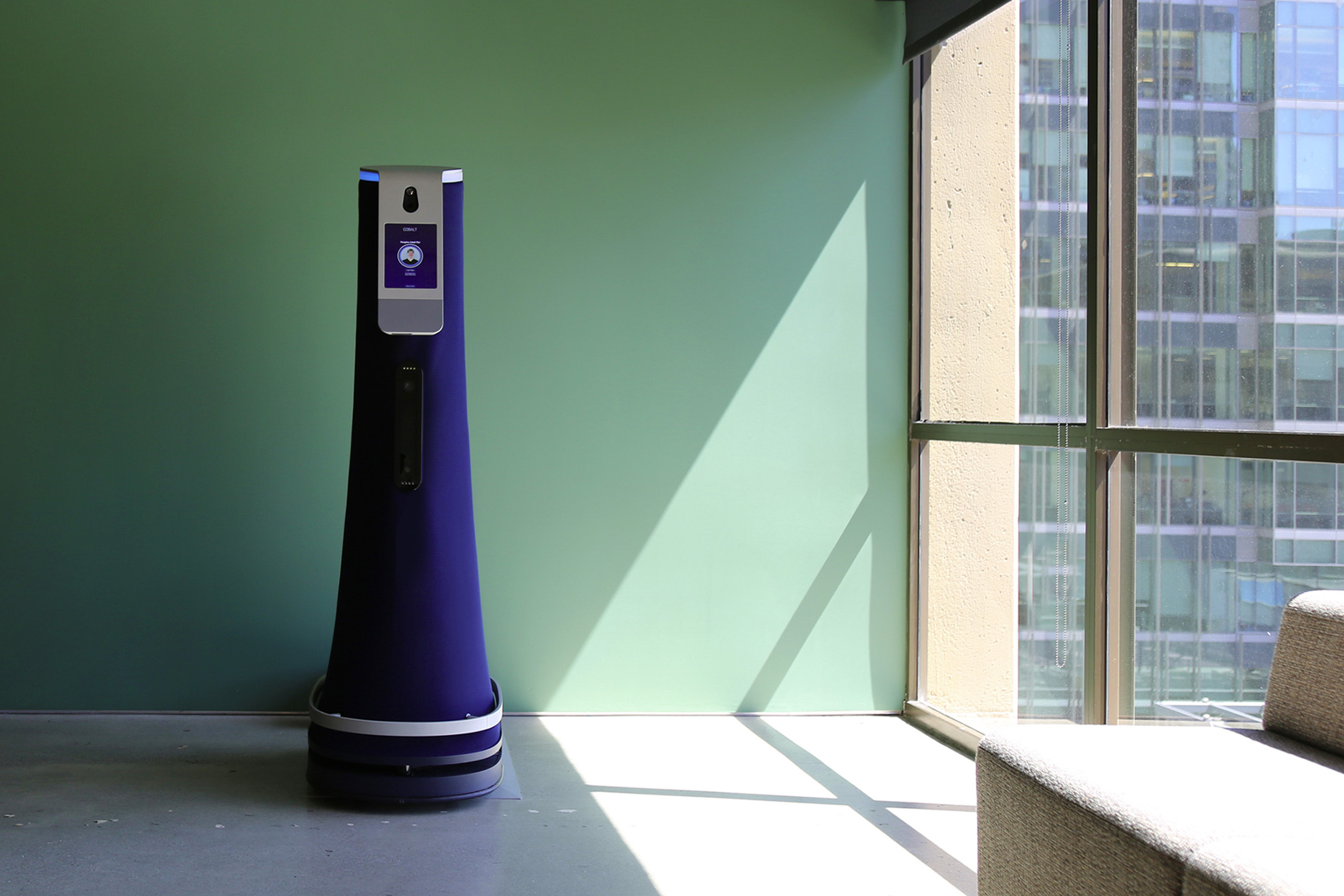 Cobalt Robot for office security