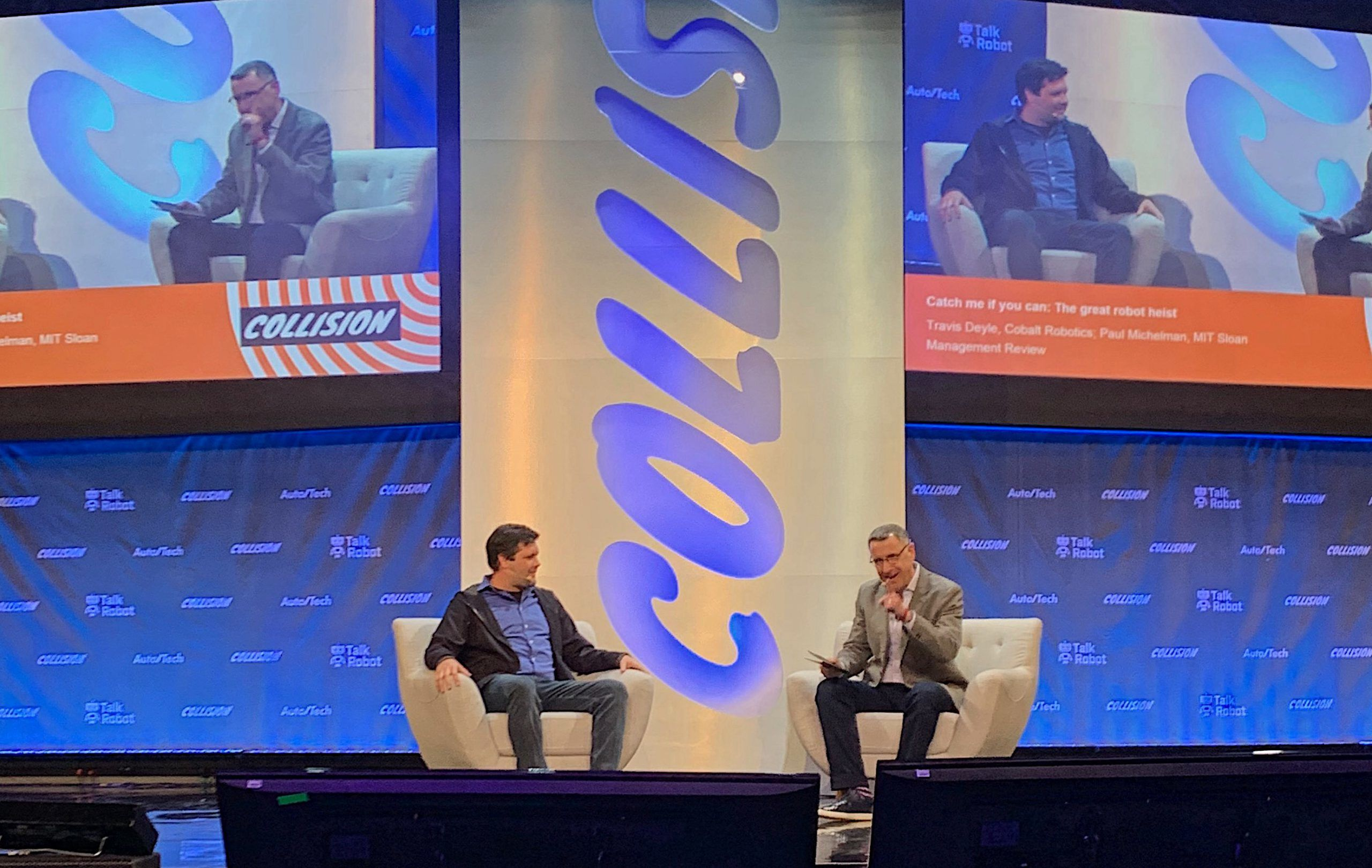 Cobalt CEO Travis Deyle at Collision Conference