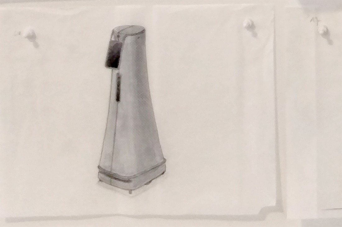 Cobalt Robot sketch from fuseproject