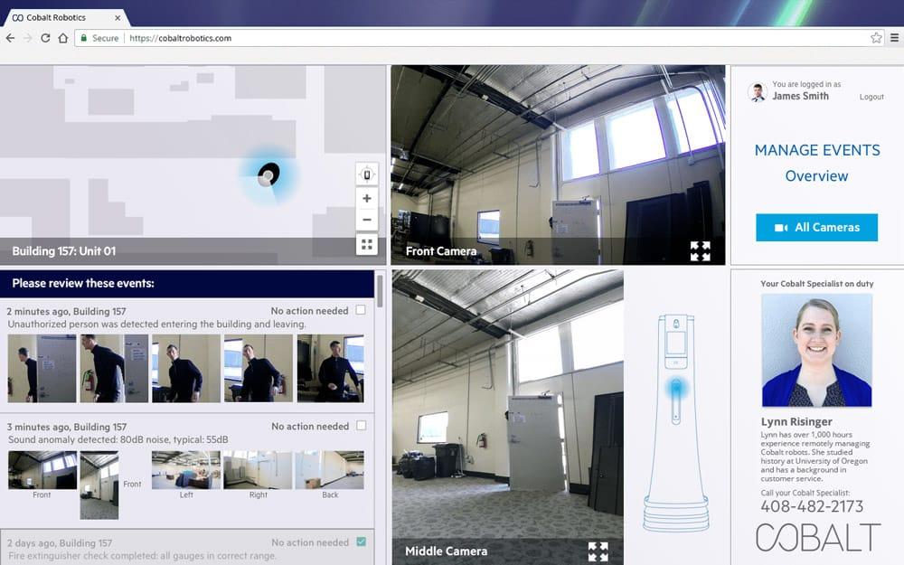 Cobalt SOC App UI